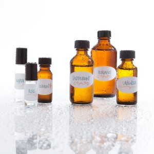 Crinklee Waterproof Essential Oil Labels for 5ml and Larger Bottles and Rollers - Oil Resistant - Highly Du