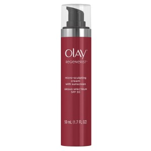 Olay Regenerist Micro-Sculpting Cream Moisturizer with SPF 30 Broad Spectrum, 1.7 Fluid Ounce