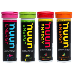 New Nuun Active New Nuun Energy Hydrating Electrolyte Tablets, Variety Pack, 4 Count