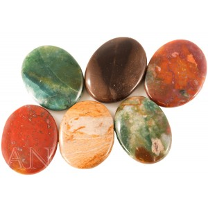 Aisev Naturals- Worry Stones - 6 Pack
