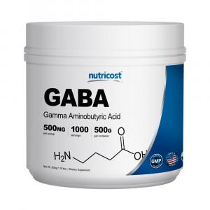 Nutricost Pure GABA (Gamma Aminobutyric Acid) Powder (500 grams/1.1 pounds)