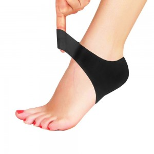 L'Vanah Plantar Fasciitis Shock Absorbing Silicone Gel Breathable Protective Heel Air Support Sleeve
