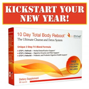AYATHRIVE: 10 Day Total Body Reboot - The ULTIMATE Cleanse and Detox System!