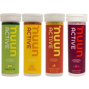New Nuun Active Hydrating Electrolyte Tablets, Citrus Berry Mix, 4 Count