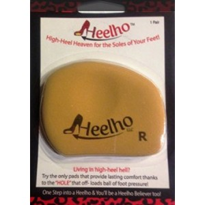 Heelho LLC Heelho Insoles - Living in high-heel hell? Try the only insert that can take you to high-heel heav