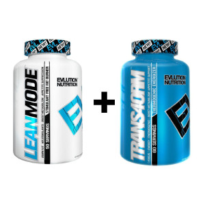 Evlution Nutrition EVL Trans4ormation Mode Stack, Lean Mode 150 Count + Trans4orm 120 Count