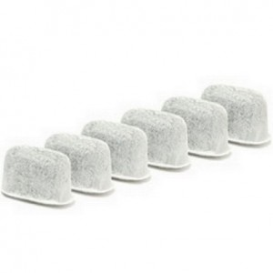 PureGreen Water Filter 6 Replacement Charcoal Water Filters for Keurig Coffee Machines
