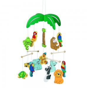 Gollnest & Kiesel KG Ceiling Mobile - Jungle Zoo Animals - The Perfect Distraction for Bedtime