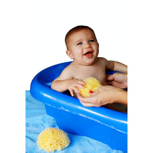 BaBuddy Baby Buddy Natural Bath Sponge, 2 Piece