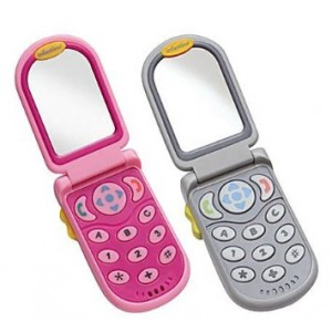 Infantino Flip and Peek Fun Phone, Pink (Discontinued by Manufacturer)
