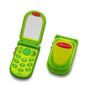Infantino Flip and Peek Fun Phone, Green