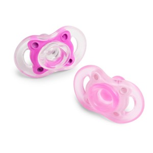 BornFree Born Free BPA-Free Bliss Natural Shape Pacifier, Pink, 0-6M (Discontinued by Manufacturer)