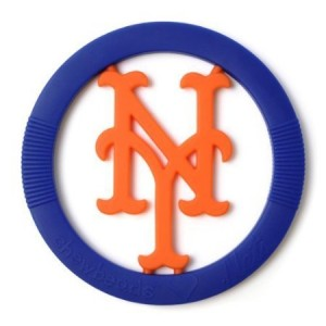 Chewbeads MLB Gameday Teether - New York Mets