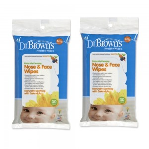 Dr. Brown's Face and Nose Wipes (2 Pack--stock up and Save)
