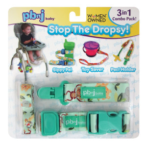 PBnJ Baby Stop the Dropsy 3-in-1 Combo Pack (Jungle)