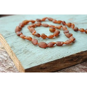 Pagan Stone Authentic Raw Baltic Amber Necklace 17,5''