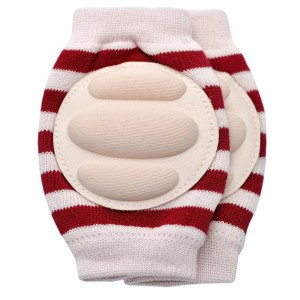 YEAHINSHOP New Baby Crawling Knee Pad Toddler Elbow Pads 805514 Pink-red