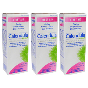 Boiron Calendula Cream, 2.5 oz, Pack of 3