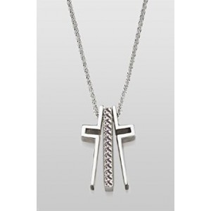 Local Artist Trinity Cross Collection Keepsake -- Courage Sentiment -- AS SEEN ON QVC
