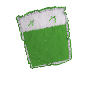 BabyDoll Bedding Baby Doll Regal Crib Comforter, Green Apple