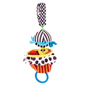 Sassy Peek-a-Boo Jitter Bee Toy