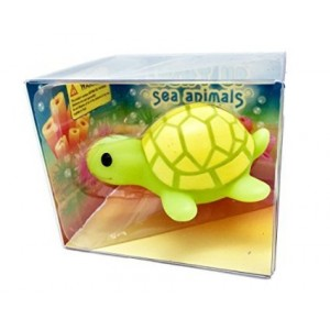 Rittle Cute Turtle, Light-up Sea Animal Bath Toy