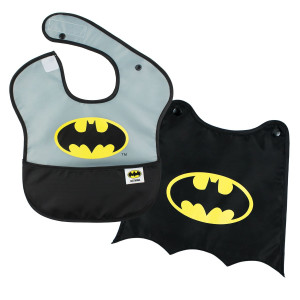 Bumkins DC Comics Super Bib with Cape, Batman, 6-24 months
