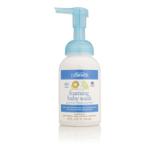 Dr. Brown's Foaming Baby Wash, 8 Ounce