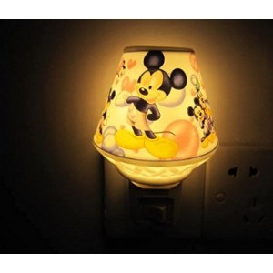 A.Shine Lovely Cute Mouse Cartoon Small Ceramic Night Light NightLight for Children Kids Bedroom Decoration