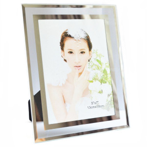 Gift garden 5 by 7 -Inch Picture Frame -Modern Glass Frames for Home