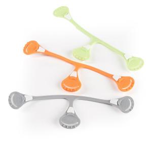 Snappi-SNATH Cloth Diaper Fastener - 3 Pack, Gray/Green/Orange