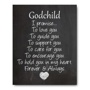Ocean Drop Photography Godchild Nursery Art Print, Perfect Christening/Baptism Gift for Godson / Goddaughter