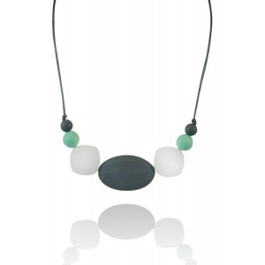 """Wear Tough """"Savannah"""" New Chic Teething Necklace For Mom and Baby-Modern and Elegant, Safe To Wear, High-Gr"""