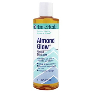 Home Health Almond Glow Skin Lotion,Artificial Fragrance Free, 8 Fluid Ounce