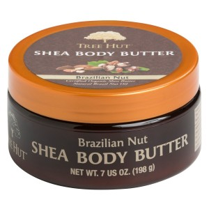 Tree Hut Shea Body Butter, Brazilian Nut, 7-Ounce (Pack of 3)
