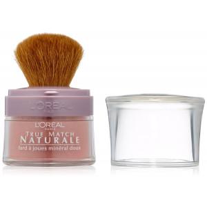 L'Oreal Paris True Match Naturale Gentle Mineral Blush, Pinched Pink, 0.15 Ounces