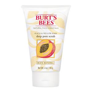 Burt's Bees Peach and Willowbark Deep Pore Scrub, 4 Ounce (Pack of 3)