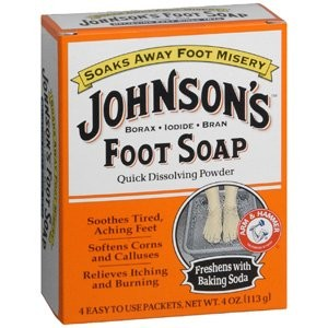 Med-Choice Special pack of 5 JOHNSON'S FOOT SOAP 4 ENV