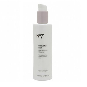 BOOTS No7 Beautiful Skin Age Defence Cleanser - 6.7 U.S. fl. oz.