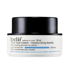 belif Korean Cosmetics The True Cream Moisturizing Bomb, 1.44 Ounce