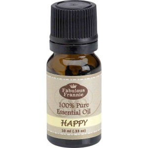 Fabulous Frannie Happy 100% Pure, Undiluted Essential Oil Blend Therapeutic Grade  - 10 ml. Great for Aromatherapy!