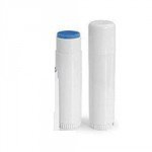 Natural Essentials 50pk Bulk Lip Balm - White Stick - Filled / Unlabeled - You Pick the Flavor (Herbal Mint)