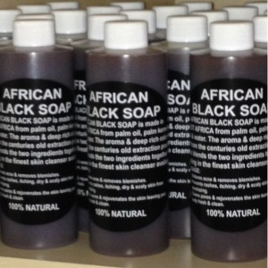 Plant Guru 100% Pure Authentic Liquid African Black Soap From Ghana 8oz.