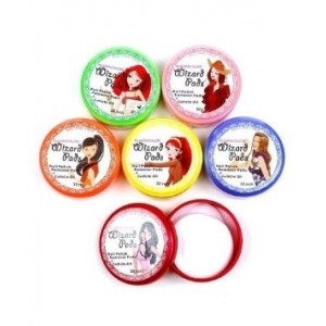 Cydraend 6 KLEANCOLOR WIZARD PADS NAIL POLISH REMOVER PADS WITH CUTICLE OIL AJ6 (Rose Lemon Orange Cherry G