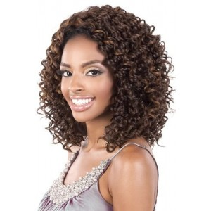 "BeShe 2"" Deep Lace Front Wig - LACE-45 (CURLY MED SHAG 15"") (F4/27/30)"