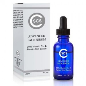 CSCS 20% Ferulic Acid with Vitamin C + E Serum best Serum for Face, Wrinkles, Lines and Puffiness