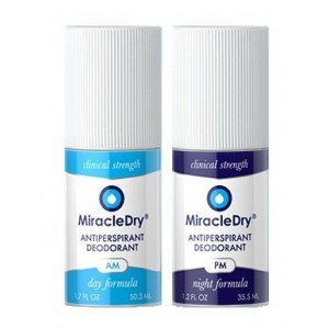 MiracleDry AM/PM Antiperspirant System - Clinical Strength for Treatment of Excessive Underarm Sweating