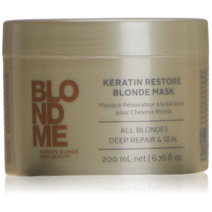 Blond Me Schwarzkopf Professional - Blondme Keratin Restore Blonde Mask Treatment 200