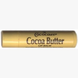 Cocoa Butter Lip Balm, .15 oz, 10 Pack