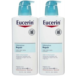 Eucerin Intensive Repair Very Dry Skin Lotion - 16.9 oz - 2 pk